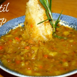 Rosemary and Lentil Soup