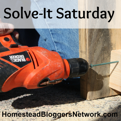 Solve-It Saturday Linkup