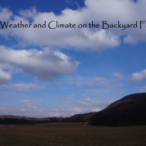 Weather and Climate for the Homestead
