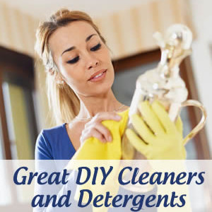 Homemade Cleaners and Detergents