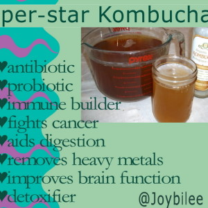 Secret Super-Healing Benefits of Kumbucha