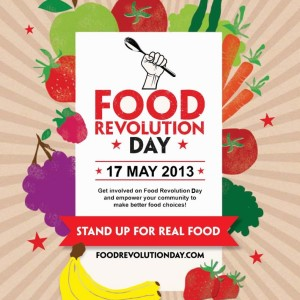 Food Revolution Day is May 17th, 2013