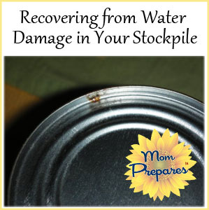 How to Recover from Stockpile Water Damage