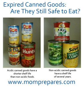 Still Safe to Eat Your Expired Canned Goods?