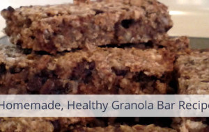 Healthy Homemade Granola Bar Recipe
