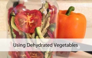 Cooking with Dehydrated Vegetables