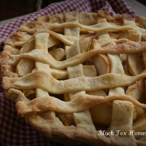 Easy Lattice Top Apple Pie