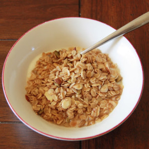 Sesame Seed, Pepita, and Almond Granola