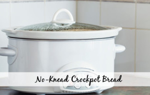 No-Knead Crockpot Bread Recipe