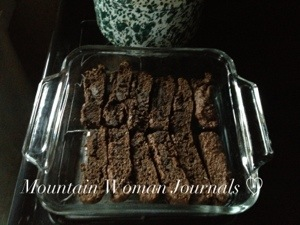 Chocolate Almond Wilderness Biscotti