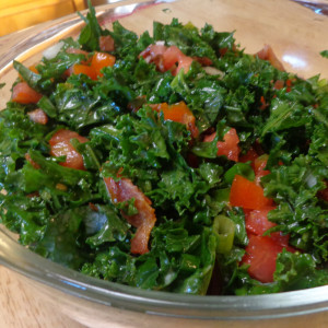 Kale and Bacon Salad