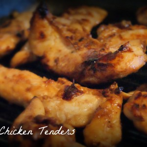 Grilled Chipotle Chicken Fingers