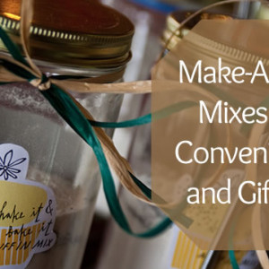 Mix In a Jar Recipes