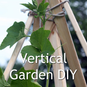 Build a Vertical Garden TeePee