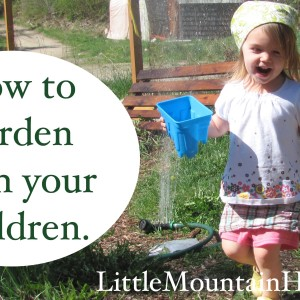 How to garden with your children