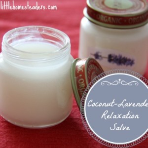 Coconut -Lavender Relaxation Salve