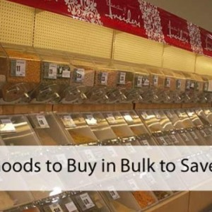 What can You Buy in Bulk to Save Money?