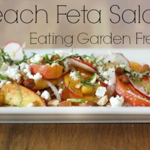 Peach and Feta Salad