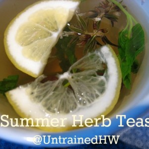 Summer Herb Teas