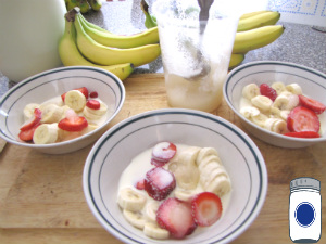 Breakfast, Snack, or Dessert: Bananas & Cream