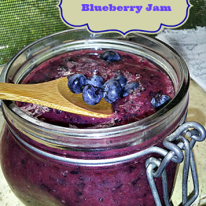Raw Blueberry Jam