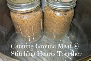 Canning Ground Meat