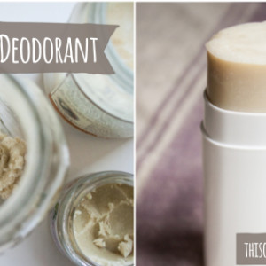 DIY Natural Lavender & Tea Tree Essential Oil Deodorant
