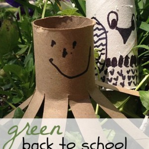 Green Kids Crafts for Back to School