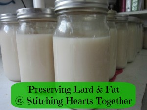 Preserving Lard With Canning
