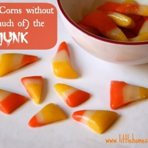 Homemade Candy Corns with Less Junk