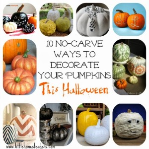 10 No-Carve Pumpkin Ideas for Halloween
