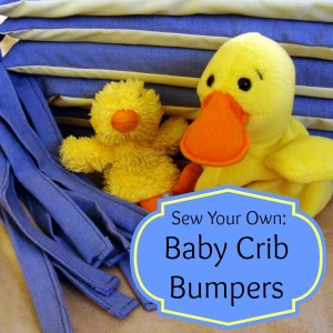 Sew Your Own Baby Crib Bumpers