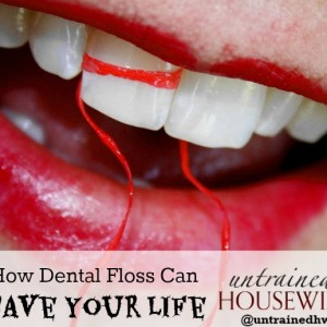 How Dental Floss Can Save Your Life