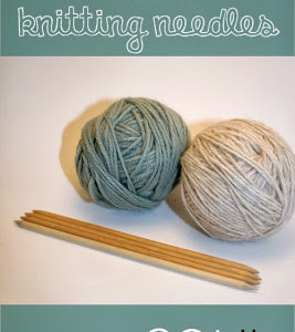 Make Your Own Double Pointed Knitting Needles!