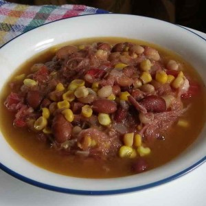Inexpensive Bean Soup