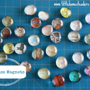 Homemade Glass Magnets