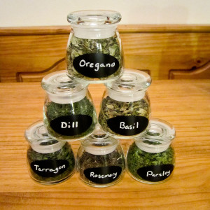 Fresh Herb Jars as a Handmade Gift