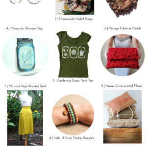 A Very Merry Eco-Friendly Etsy Gift Guide: For Her