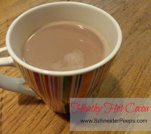 Healthy Hot Cocoa