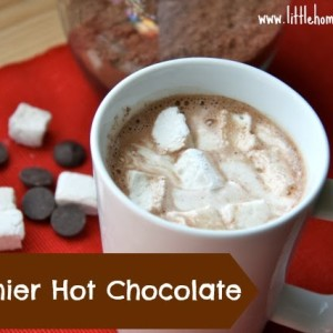 Healthier Homemade Hot Chocolate and Marshmallows