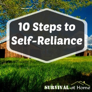 10 Steps to Sef-Reliance