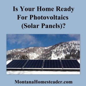 Is Your Home Ready for Photovoltaics?