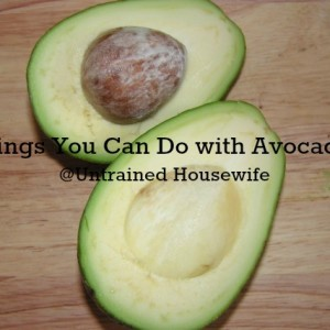 What to Do with Avocados