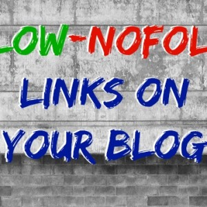 Follow/NoFollow Links on Your Blog