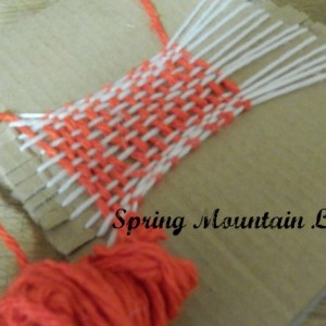 DIY Weaving Loom for Kids