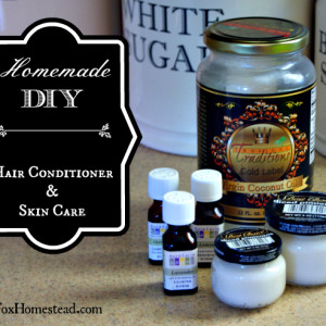 Healthy, Easy, DIY Hair and Skin Conditioner