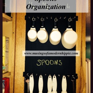 DIY Measuring Cup and Spoon Organizer