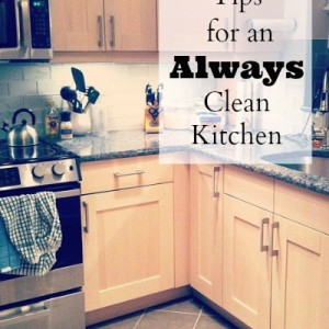 Kitchen Tips: How to Always Keep Your Kitchen Clean