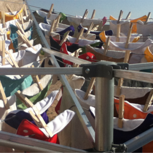 Save Energy, Use a Clothesline to Dry your Clothes!
