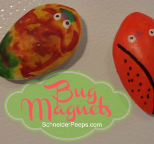 Make your own bug magnets
